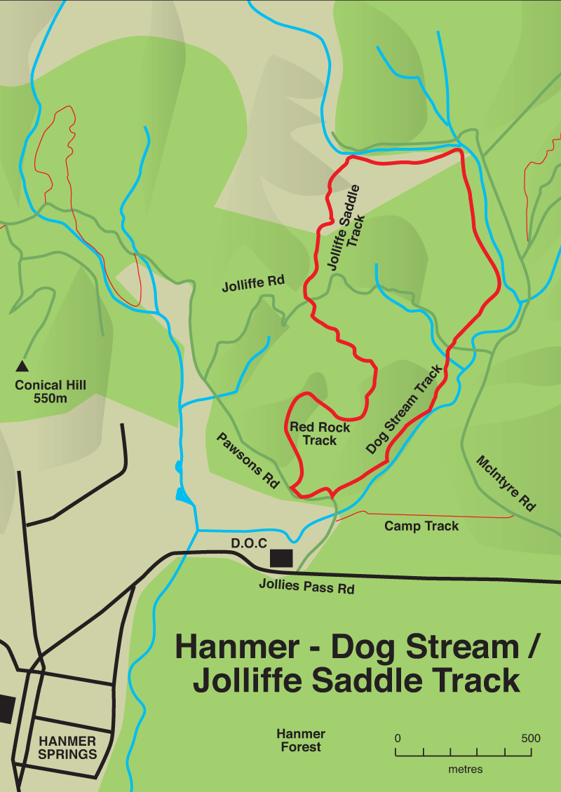 dog stream map
