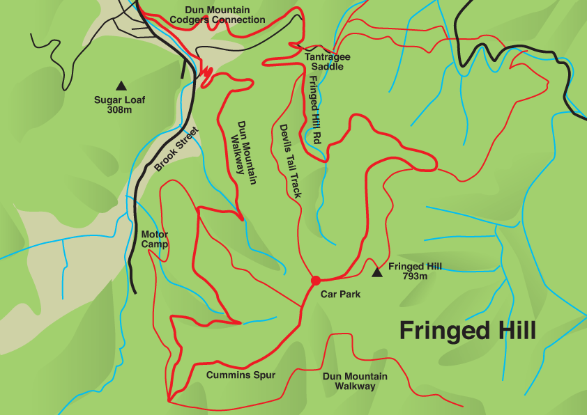 fringed hill map