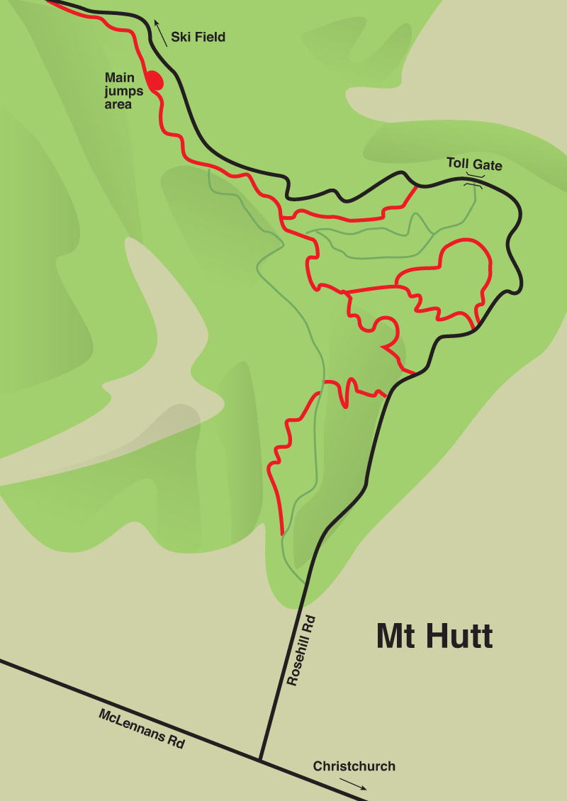 mt hutt map